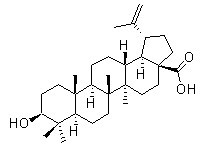 Betulinic acid Chemical Structure