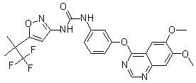 Agerafenib (RXDX-105) Chemical Structure