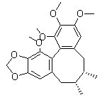 Schisandrin B (Sch B) Chemical Structure