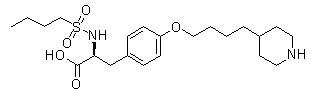 Tirofiban Chemical Structure